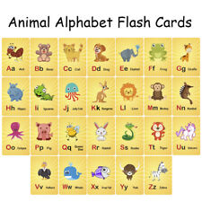 ABC Alphabet Flash Cards | Nurseries Schools Kids, Educational Toys Game Cards