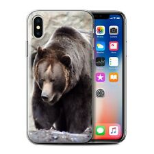 Animaux sauvages Coque Gel pour iPhone X/10/Ours