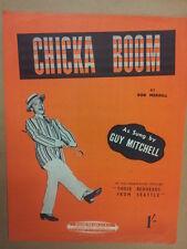 Canción Hoja Chicka Boom Guy Mitchell 1953