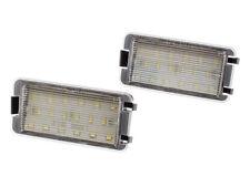 SEAT ALTEA AROSA CORDOBA IBIZA LEON NUMBER LICENSE PLATE LIGHT LAMP 2X LED