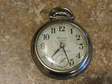 Vintage Westclox Scotty Mechanical Pocket Watch - Shock Resistant WORKING