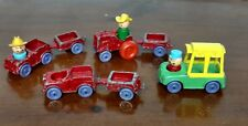 Vintage Lot Of 10 Pieces 1967 Tootsietoys Diecast Cars And Tootsietoy Playmates