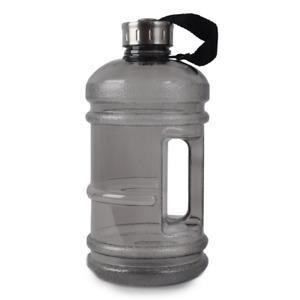 Large Drinking Water Bottle BPA Free Gym Training Sports Camping Handle 2.2L