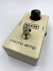 MXR M133 Micro Amp Clean Booster Pre-Amp Guitar Effect Pedal Dunlop