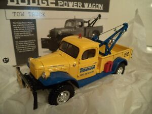 FIRST GEAR DODGE POWERWAGON AMERICAN TOWMAN     1/30TH SCALE   IN  BOX