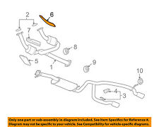 Chevrolet GM OEM 03-06 SSR Exhaust-Heat Shield Left 15103036