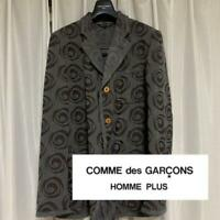 COMME des GARCONS HOMME PLUS Auth 2002AW Patterned Jacket Size M Used from Japan