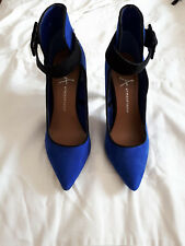 Atmosphere High Heel Shoes - Blue - Court Toe - Strap - Size 3