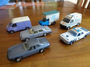 Matchbox Superkings 70s vintage cars x 5 And 1 corgi bulk lot