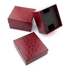 Cocodrilo líneas nobles Durable presente regalo caja para reloj de pulsera