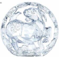 New in Box $599 Swarovski Chinese Zodiac Sheep Clear Crystal #5136871