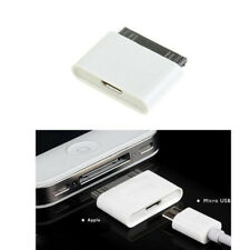 30 Pin to Micro USB Cable Charger Adapter for iPhone 4S 4 3GS iPad 2 3 iPod