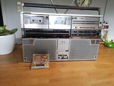 Classic SHARP GF-555H NICE RARE Ghettoblaster Boombox Radio Vintage 80's READS