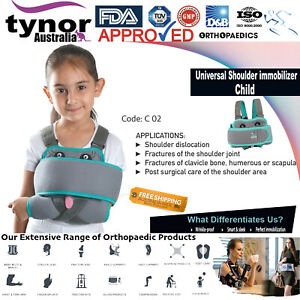 Tynor™ Paediatric Shoulder Immobilizer Child Kids Arm Sling Dislocated Injury