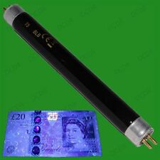 1x T5 6W UV Blacklight 212mm Tube Bulb Counterfeit Security Marker Detector Lamp
