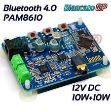 Modulo amplificatore 20W 2 x 10W con ricevitore Bluetooth 4.0 PAM8610 Classe D