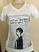 Women Justin Bieber Love Yourself V-Neck T-Shirt //concert belieber tour purpose