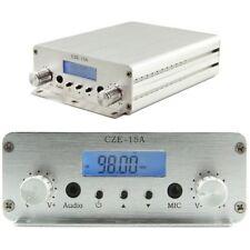 CZE-15A 3w/15w 88mhz~108mhz Fm Radio Broadcast Stereo Pll Broadcast Transmitter