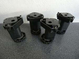 Möbelfüße höhenverstellbar   schwarz   4 Stück
