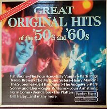 Great Original Hits 50s and 60s 9 LP s Vinyl 33 rpm Set Record s Collector's