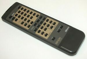 Genuine DENON RC-165 Remote Control Handset - Fully Working