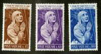 Vatican City #335-337 MNH CV$1.00 St Catherine