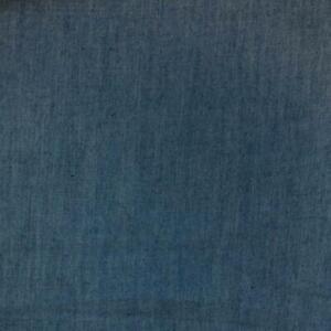 Light Blue Denim 100% Cotton Fabric - Dressmaking fabric - quilting fabric