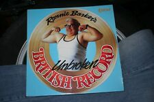 RONNIE BARKER'S UNBROKEN BRITISH RECORD LP K-TEL TWO RONNIES