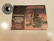 Airwolf - nintendo nes - notice FRG