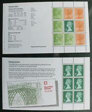 Gb – Wedgwood £3 Booklet – Complete Set of Stamp Pages Um (Mnh) (R4)