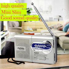 Portable Mini Pocket AM/FM Telescopic Antenna Battery Powered Radio Receiver Hot