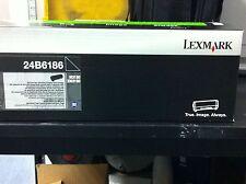 ORIGINAL Lexmark Cartouche d'encre 24B6186 Noir xm3150 M3150 A-Ware