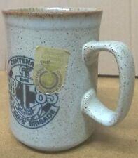 Dunoon Ceramics Boys Brigade Centenary Mug Scotland Scottish Tea Cup Stoneware