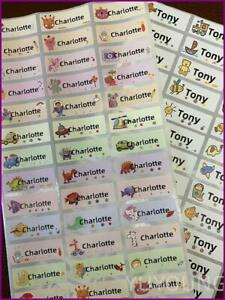 120Pcs Name Tag Sticker Customize Stickers Waterproof Personalized Labels