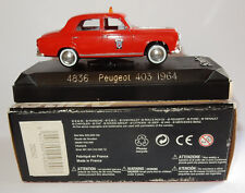 MADE IN FRANCE SOLIDO PEUGEOT 403 1964 POMPIERS REF 4836 1/43 IN BOX