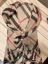 Burberry Nova check stretch modal cardigan