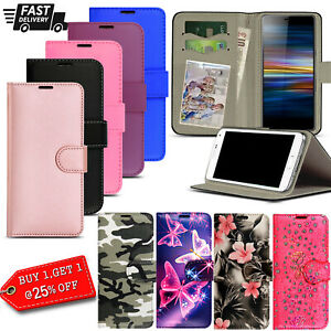 for Oppo A15, A72, A53, Premium Flip PU Leather Card Wallet Stand Case Cover