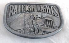 VINTAGE 1970s RALEIGH LIGHTS (SEMI-TRUCK) BELT BUCKLE