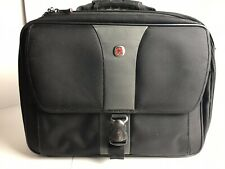WENGER SWISS ARMY Laptop Computer Case 17x14 Checkpoint Friendly Black Gray Bag