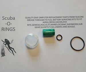 Full battery kit for Suunto Transmitter DX, D9,D9TX,D6i,D4i . Dive computer. UK