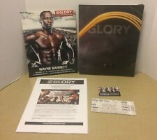 2013 GLORY 12 KICK BOXING MEDIA PRESS PACKAGE PASS TICKET MMA