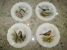 ROYAL ALBERT THE WOODLAND BIRDS COLLECTION - 4 PLATES SET