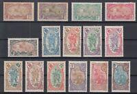 Bi6121/ FRENCH SOMALILAND – 1909 MINT SEMI MODERN LOT – CV 345 $