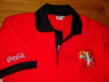 NOS Coca Cola 2010 FIFA World Cup Soccer Polo shirt M Limited Rare Promotion!