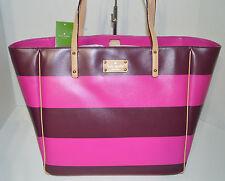 Kate Spade Ellison Avenue Sidney Tote/Handbag/Purse Plum/ Vivid Snapdragon  New