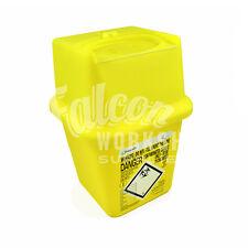 1 x SHARPS BIN 4L NEEDLE WASTE BOX INSULIN SYRINGE DISPOSAL MEDICAL TATTOO BLADE