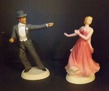 Ginger Rogers and Fred Astair Dancing Figures