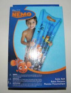 Disney Swim Raft Finding Nemo Fish Inflatable 4 ft Pool Matress NEW