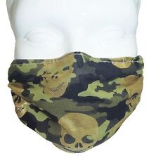 Camo Comfy Mask by Breathe Healthy. For Dust, Pollen & Allergy Relief, Cold, Flu