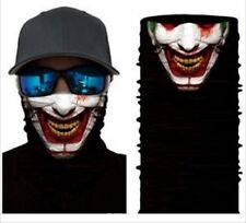Joker Smile Evil Devil CS Airsoft Game Motorcycle Tactical Military Face Mask
